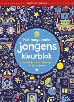 ,Het megacoole jongens kleurblok