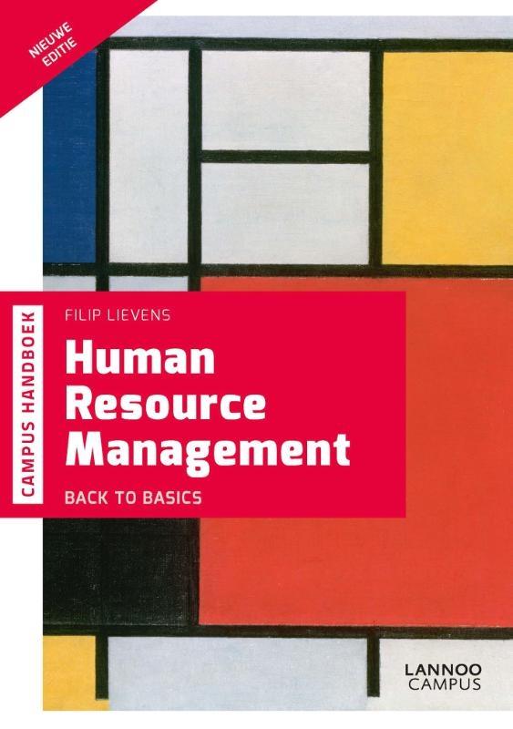 Filip Lievens,Human Resource Management