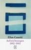 Canetti, Elias,Aufzeichnungen 1992-1993