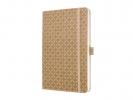 ,notitieboek Sigel Jolie Flair A5 hardcover gelinieerd beige