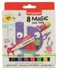 ,Viltstift Bruynzeel Kids Magic Points blister à 8 stuks assorti