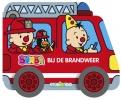 Gert  Verhulst ,Bumba : kartonboek met wielen brandweer