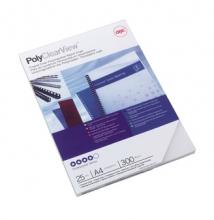 , Voorblad GBC A4 Polycover 300micron semitransparant 25stuks