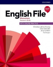 Latham-Koenig, Christina,   Oxenden, Clive,   Lambert, Jerry English File: Elementary. Student`s Book with Online Practice