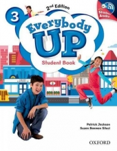 Jackson, Patrick Everybody Up 3. Student Book with Audio CD Pack