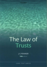 Penner, James Law of Trusts