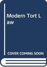 V. H. Harpwood Modern Tort Law
