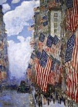 Childe Hassam The Fourth of July Notebook