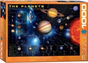 Eur-6000-1009 , Puzzel planets eurographics 1000 stukjes