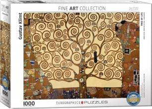 Eur-6000-6059 , Puzzel tree of life- gustav klimt 1000 stuks