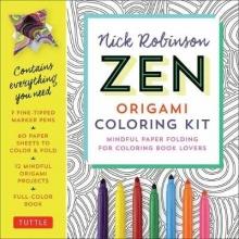 Robinson, Nick Zen Origami Coloring Kit