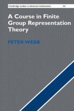 Peter Webb A Course in Finite Group Representation Theory