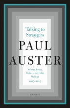 Auster, Paul Talking to Strangers