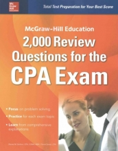 Stefano, Denise M.,   Surett, Darrel McGraw-Hill Education 2,000 Review Questions for the CPA Exam