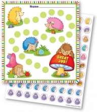 Happy Hedgehogs Mini Incentive Charts