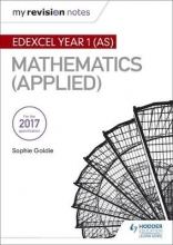 Dudzic, Stella My Revision Notes: Edexcel Year 1 (AS) Maths (Applied)