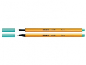 , Fineliner STABILO point 88/51 turquoise blauw