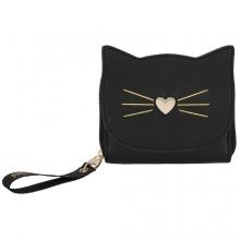 Topmodel portemonnee kat zwart cat