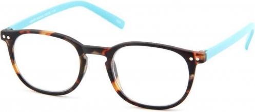 G55725 , Leesbril junior g55700 bruin/turquoise 2.50