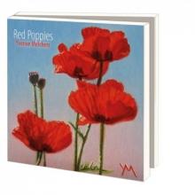 , Notecard pak 10 stuks 15 x15 cm red poppies melchers