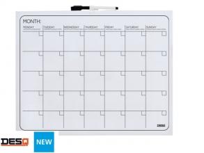 , Planbord Desq maand 40x50cm magnetisch