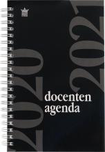 520doc112.zw , Docentenagenda 2020-2021 spiraal a5 zwart