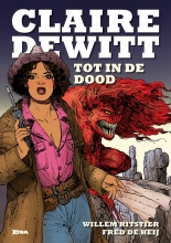 Willem  Ritstier Claire DeWitt, dl.1: Tot in de dood (softcover)