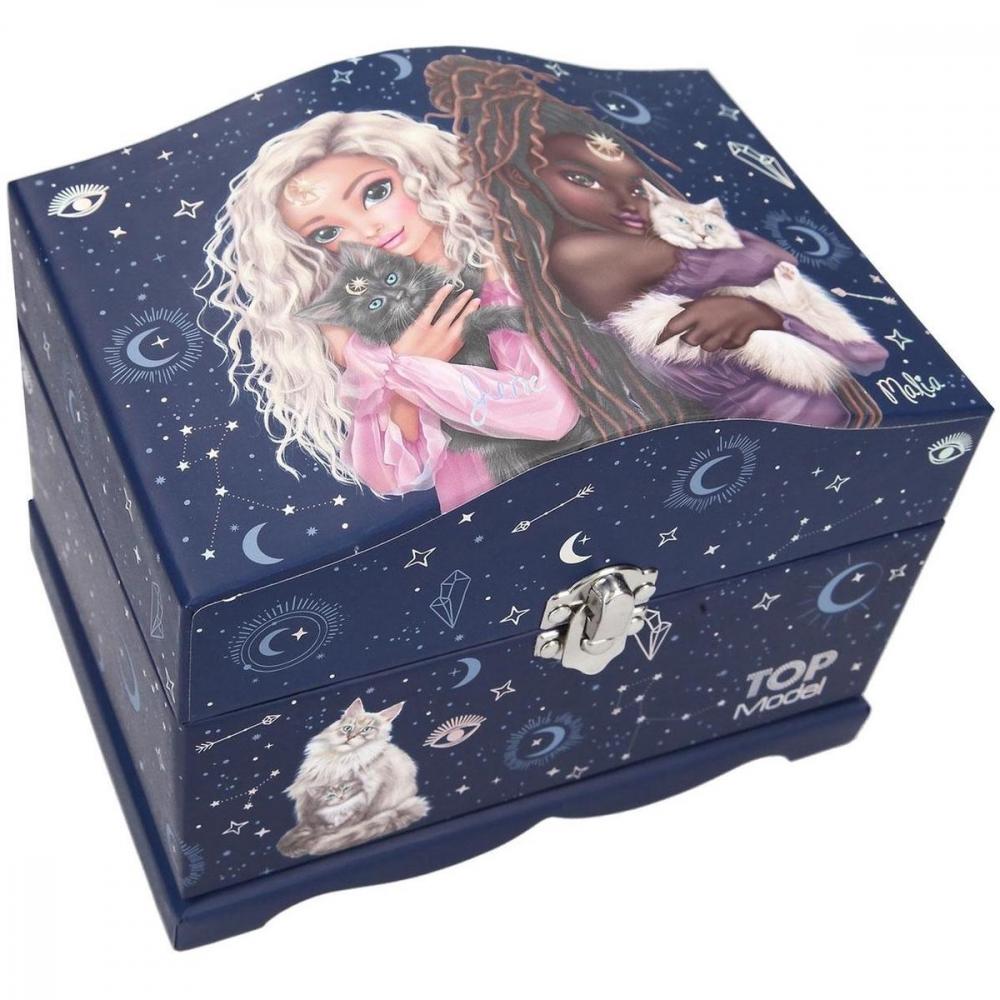 11586 a,Fantasy model sieradendoos met licht moonlight