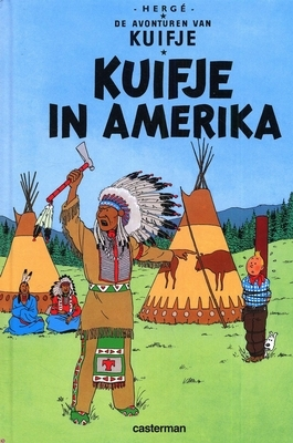 Hergé,Kuifje in Amerika