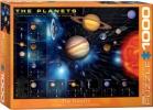 Eur-6000-1009 , Planets puzzel eurographics 1000 stukjes