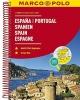 ,<b>Spanje - Portugal Wegenatlas Marco Polo</b>