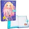 ,<b>Topmodel dagboek met geheime code paars</b>