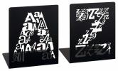 ,<b>Boekensteunen zwart a en z moses</b>