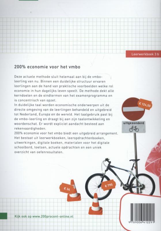 Ilse Ouwens, Paul Scholte,200 % Economie voor het vmbo Leerwerkboek 3b