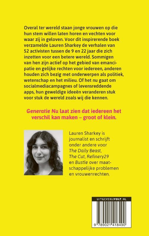 Lauren Sharkey,Generatie Nu