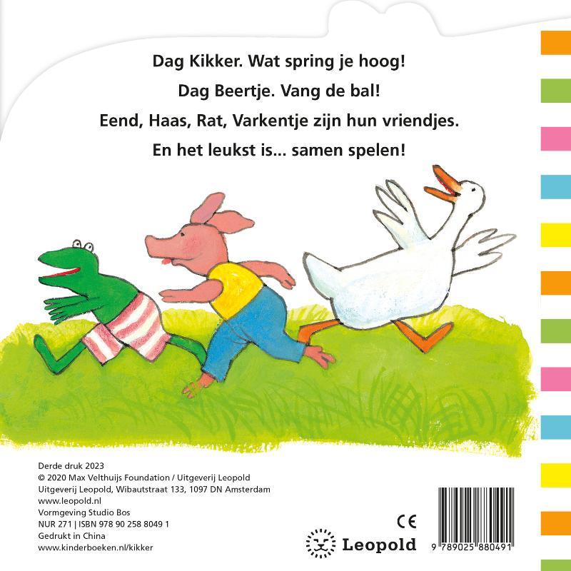 Max Velthuijs,Mijn eerste Kikkerboek
