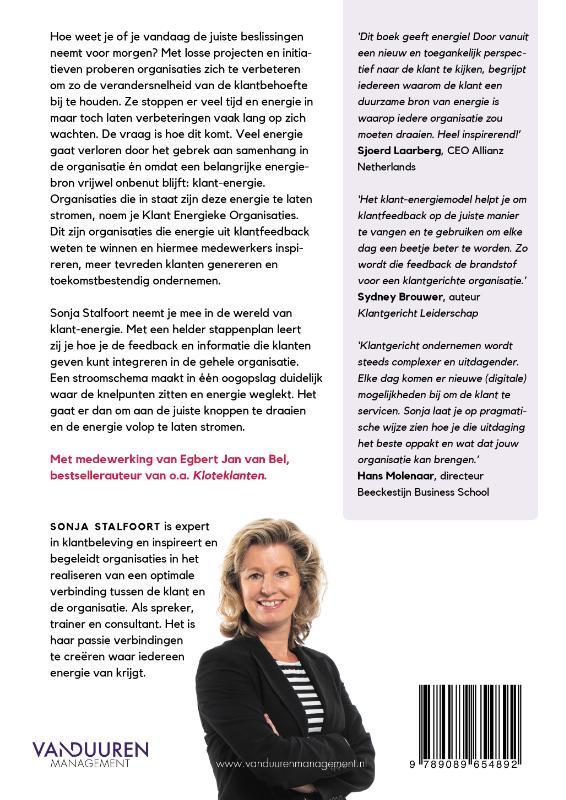 Sonja Stalfoort,De Klant Energieke Organisatie