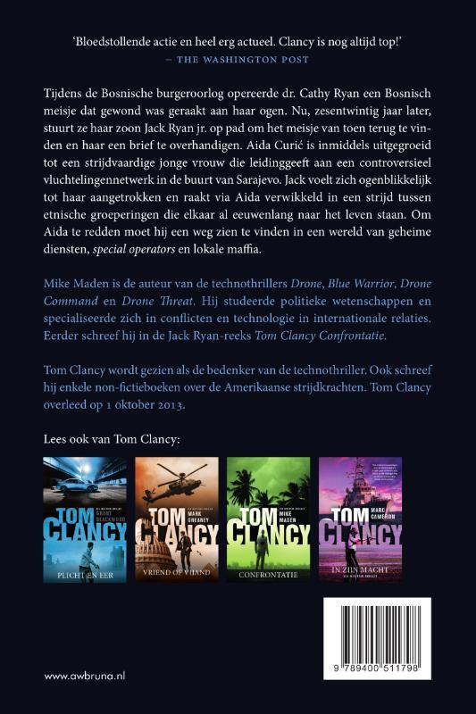Mike Maden,Tom Clancy Vuurlinie