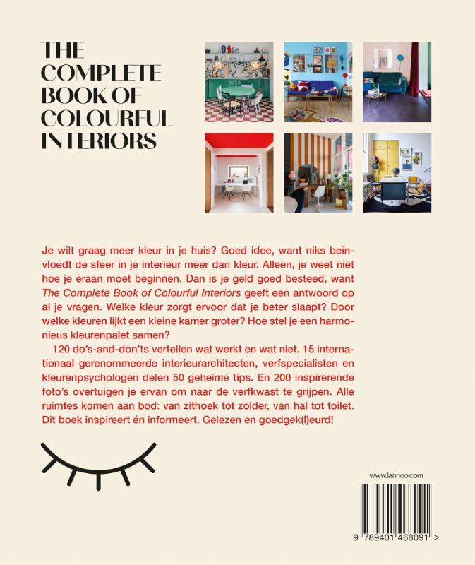 Iris De Feijter, Irene Schampaert,The complete book of colourful Interiors