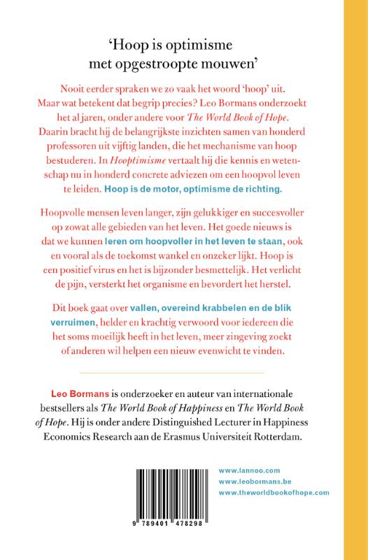 Leo Bormans,Hooptimisme