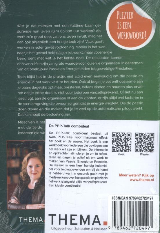 Jessica van Wingerden,De Pep-talk combideal