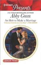 Green, Abby An Heir to Make a Marriage