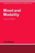 Palmer, F. R. Mood and Modality