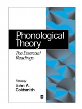 John A. Goldsmith Phonological Theory