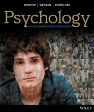 Burton, Lorelle J. Psychology 4E AU & NZ + Psychology 4E AU & NZ iStudy Version 2 with CyberPsych Card