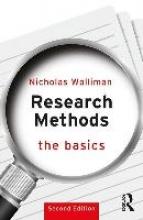 Nicholas Walliman Research Methods: The Basics