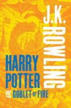 J.,K. Rowling Harry Potter and the Goblet of Fire (adult Paperback)