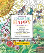 Mucklow, Lacy Portable Color Me Happy Coloring Kit