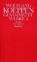 Koeppen, Wolfgang Berichte und Skizzen I