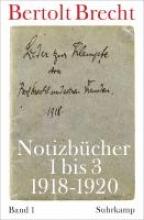 Brecht, Bertolt Notizbcher